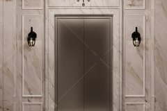 لابی آسانسور -  شرکت معماری