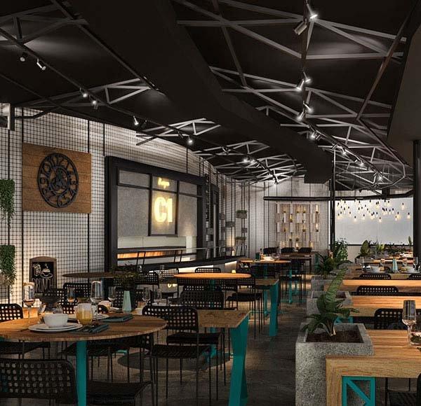 طراحی رستوران ساحلی کیش