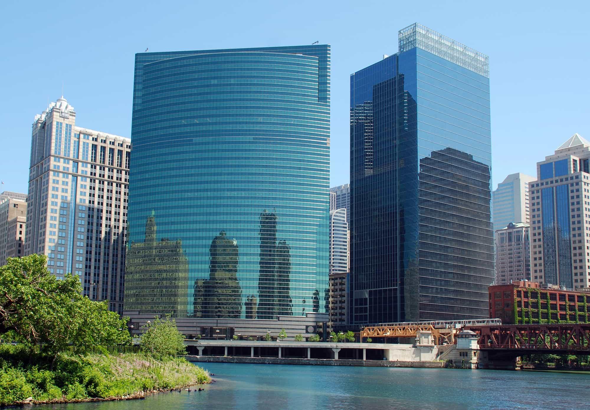 ساختمانی در شیکاگو