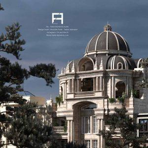 طراحی نما کلاسیک رومی