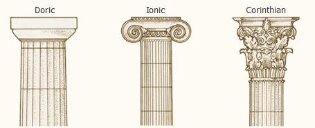 ستون های کلاسیک