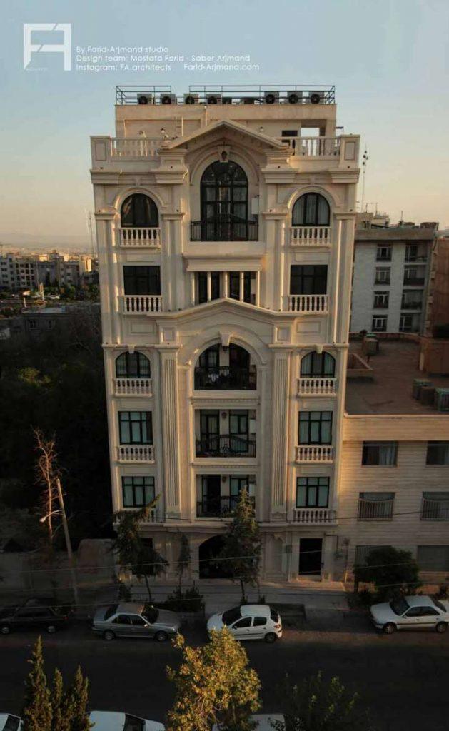 بازسازی نمای ساختمان