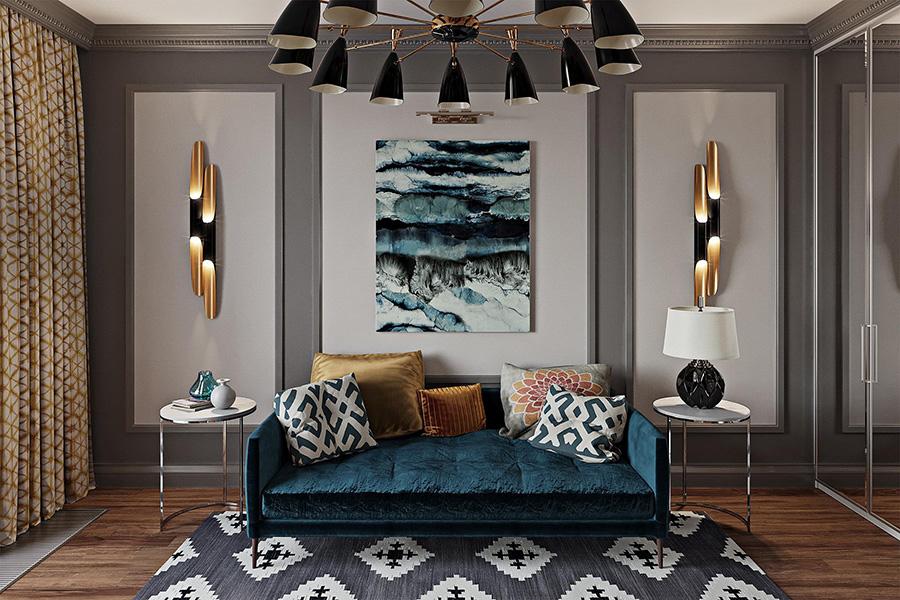 طراحی داخلی به سبک نئوکلاسیک