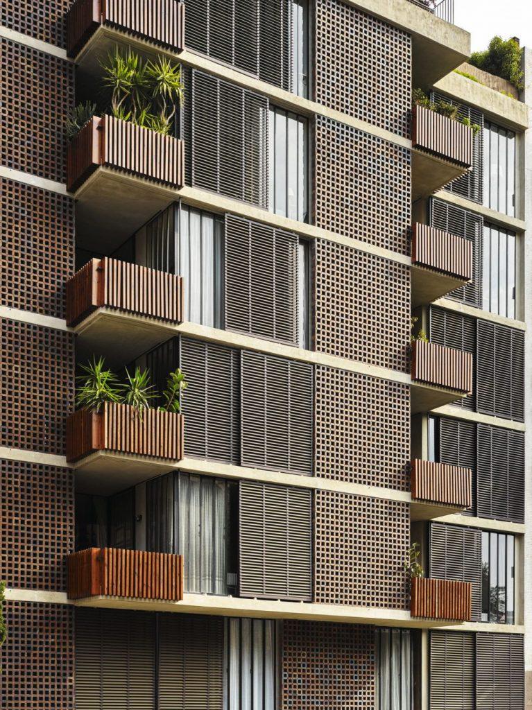 طراحی نما آپارتمانی
